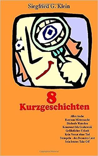 Book 8 Kurzgeschichten (German Edition)