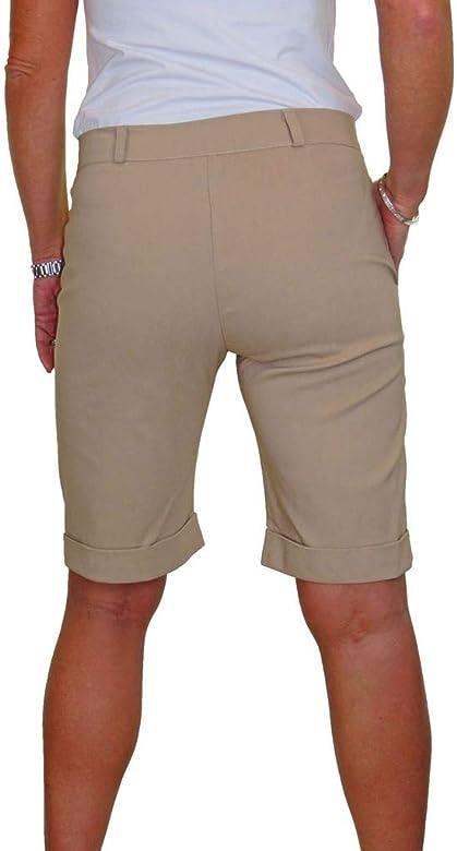Largo por Encima de la Rodilla 36-50 ICE Pantalones Cortos con el/ástico