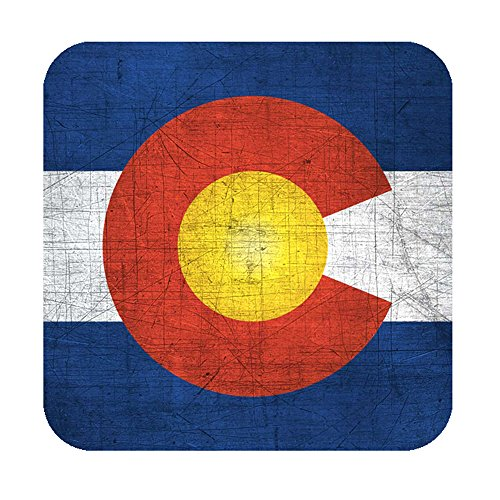 Colorado Flag Bumper Sticker, Travel Vinyl Sticker, Colorado Decal, Denver Fort Collins Boulder Sticker, State Flag - Collins Fort Stores