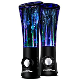 X5 BLUETOOTH WATER DANCING SPEAKER - TEC BLACK
