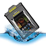 Proporta Kindle Paperwhite PW Touch 4 3 Google Nexus 7 BeachBuoy Waterproof Case eReader Cover - Up to 5 metres / 16 feet - Compatible with Devices Measuring Up To 220 x 145mm - Approved by the British Standards Institute BSI IP57 and IP58 - Lifetime Warranty