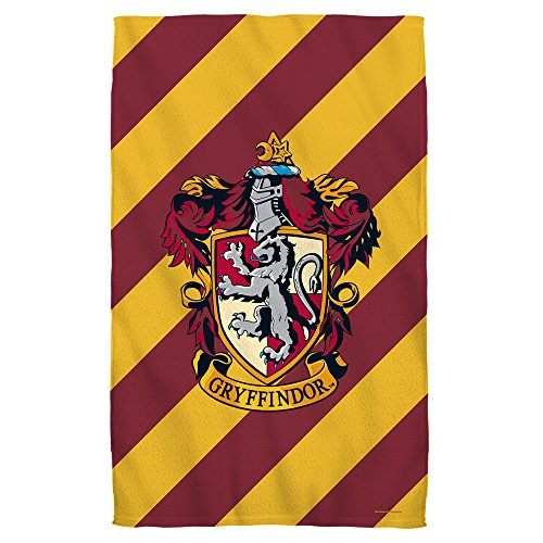 Harry Potter Gryffindor Crest Beach Towel (30'' x 60'') by Harry Potter