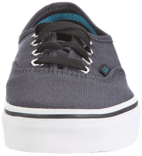 Vans Authentic VNJV5OJ Unisex - Erwachsene Sneaker Schwarz ((Suited) black/pewter)