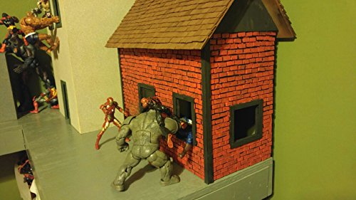 Stand Diorama - Diorama Buildings for Action Figures
