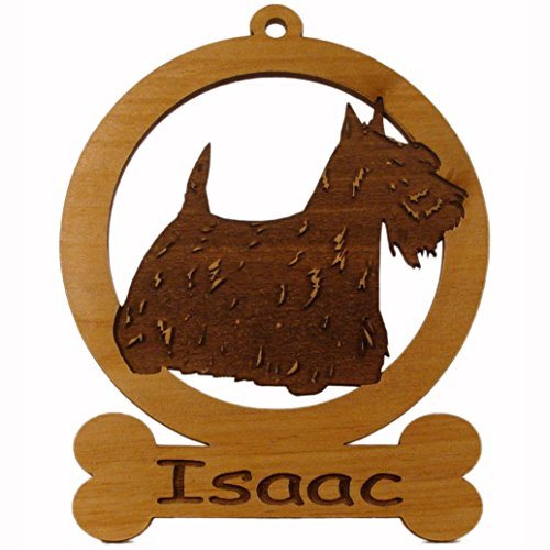 Scottish Terrier Standing Dog Ornament 083895 Personalized With Your Dog's Name