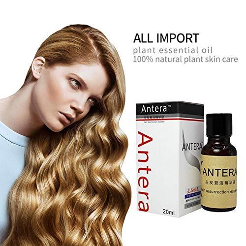 Portal Cool Esencia para el crecimiento del cabello Tratamiento de aceite de cabello de argán y coco orgánico Pelo...