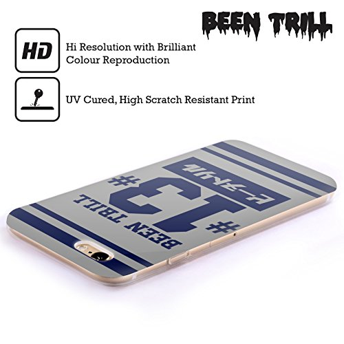 Official Been Trill Blue Stripe Japanese Jersey Soft Gel Case for Apple iPhone 5 / 5s / SE