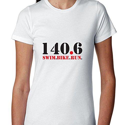 140.6 Swim Bike Run Triathlon Ironman Women's Cotton - Triathlon Ironman Apparel