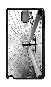 Samsung Note 3 Case London 3 PC Custom Samsung Note 3 Case Cover Black