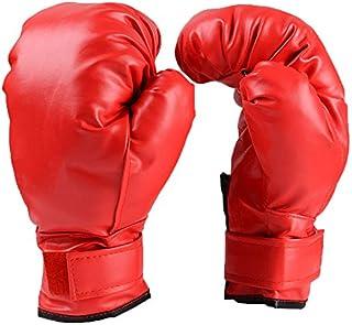 QUANGJISH Adulte Enfants Gants de Boxe Lutte Contre Les Sacs de Boxe Arts Martiaux Kickboxing protecteurs de Combat