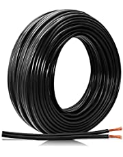 FIRMERST 16/2 Low Voltage Landscape Wire Outdoor Lighting Cable UL Listed 100 Feet