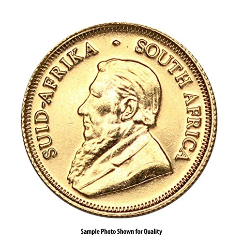 1967 ZA -Present South Africa Gold Krugerrand (Random Year) 1/4oz Brilliant Uncirculated ()