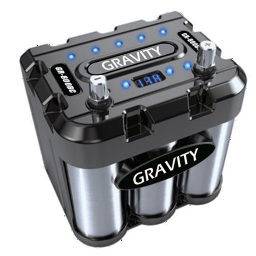 Amazon.com: GRAVITY 800 AMP CAR BATTERY CAPACITOR GR-800BC: Car ...
