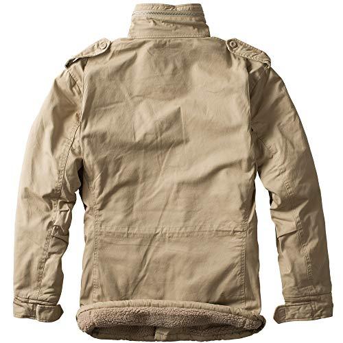 Paracadutista Trooper Parka Beanie Im S M65 Giacca Bundle Invernale Gigante Beige Ud 5xl Of6wqRf4x
