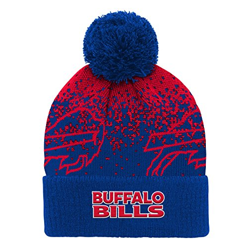 e963a79f1528e5 Buffalo Bills Cuffed Knit Hat, Bills Beanie, Bills Cuffed Beanie ...