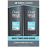 #8: Dove Men+Care Body and Face Wash, Clean Comfort 18 oz Twin Pack