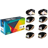Do it Wiser Compatible Xerox Phaser 7100 7100N 7100DN Toner - 106R02605 106R02599 106R02600 106R02601-8-Pack