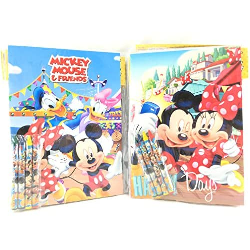 50 Off Party Favors Mickey Mouse Coloring Book Crayon Set 12 Pack