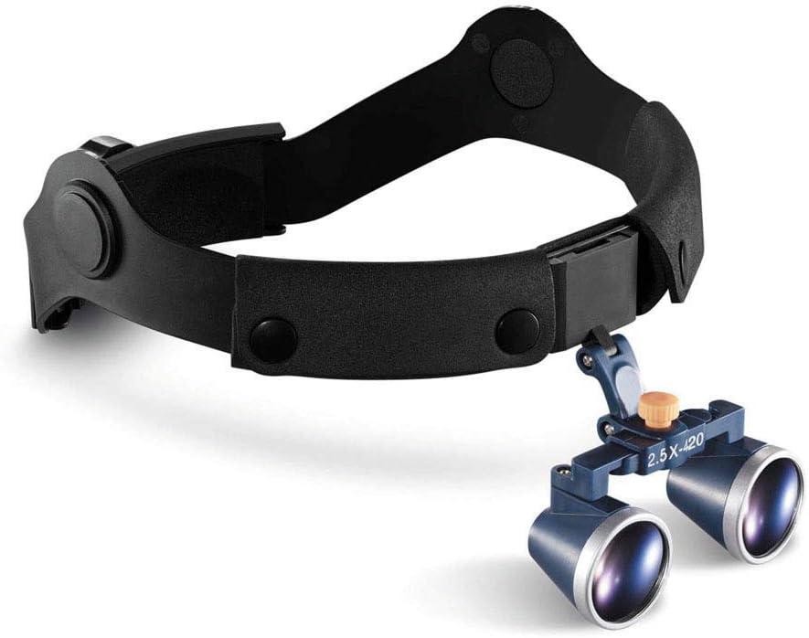 Magnifier Quirúrgico Médico Binocular Lupas 2.5X 420Mm Óptico Vaso Gafas De Protección Binocular para Quirúrgico Dental Estomatología Ortopédico