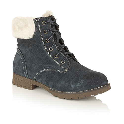 Navy Lotus Vardy Ankle Suede Boots 5OUxgOqwP