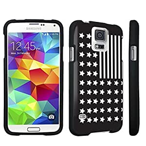 DuroCase ? Samsung Galaxy S5 Hard Case Black - (Reversed USA Flag)