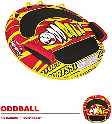 SportsStuff ODDBALL 2 2 Rider Towable Tube Kwik Tek Inc 53-5320