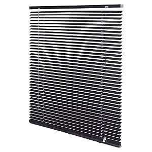 Intensions persiana veneciana de aluminio color negro - Persiana veneciana de aluminio ...
