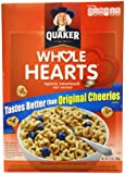 Quaker Whole Hearts Cereal, 12.3-Ounce Boxes (Pack of 6)