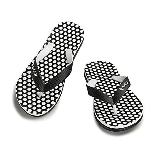 EU sandali Sandali Xujw per da Color spiaggia shoes 42 Nero Dimensione 2018 da infradito da Classic Blu Pantofola uomo Uomo 0wgUErqw