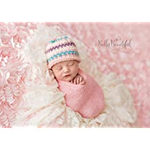 Sprightly Beanie Knitting Pattern - All Sizes Newborn, Baby, Toddler, Child, Teen and Adult Included
