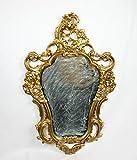 Ideacasa Gold Mirror Gold Mirror Wall Style Louis XVI Faux Vintage Furniture Baroque