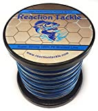 Reaction Tackle High Performance Blue Camouflage Braided Fishing Line