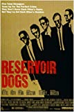 Quentin Tarantino's RESERVOIR DOGS movie poster HARVEY KEITEL TIM ROTH 24X36 (reproduction, not an original)