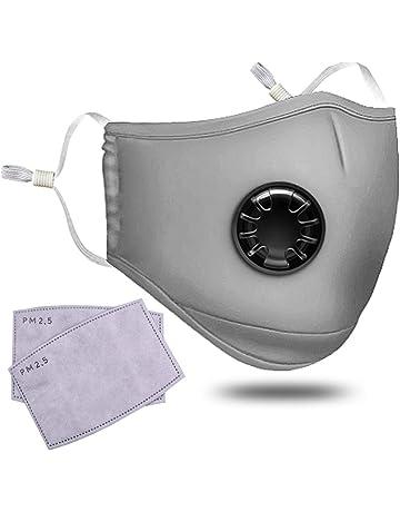 Contaminación Mask Adult PM 2,5 polen mascarilla antipolvo lavable anti-vaho anti polvo