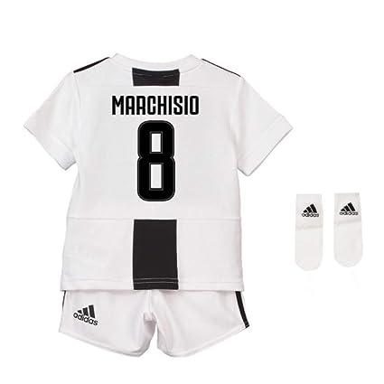 new style b739d 1b701 Amazon.com : UKSoccershop 2018-19 Juventus Home Baby Kit ...