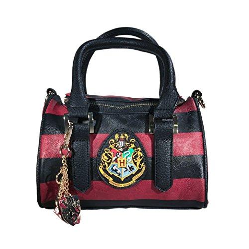 Harry Potter Hogwart's Crest Mini Satchel Handbag with Charm Harry Potter Purse