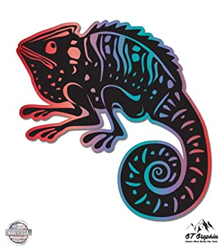 Vinyl Sticker Waterproof Decal GT Graphics Chameleon