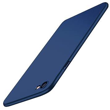 POOPHUNS Carcasa iPhone 7 iPhone 8, Ultra Slim, Case de Plástico Duro,Anti-Rasguño,Shock-Absorción,Resistente Huellas Dactilares, Acabado ...