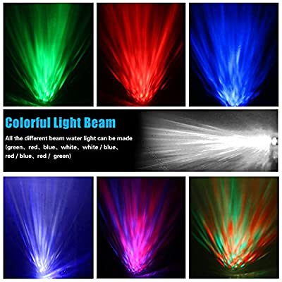 Projector Party Light Spriak 2rd Generation 14color 12watt Soothing Ocean Wave Led Night Lights with Relaxing Light Show,Mood Light for Adults Kids Bedroom Living Room (Black)