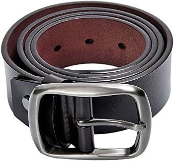 Kingstar Men's 38mm Leather Casual Jean Belt