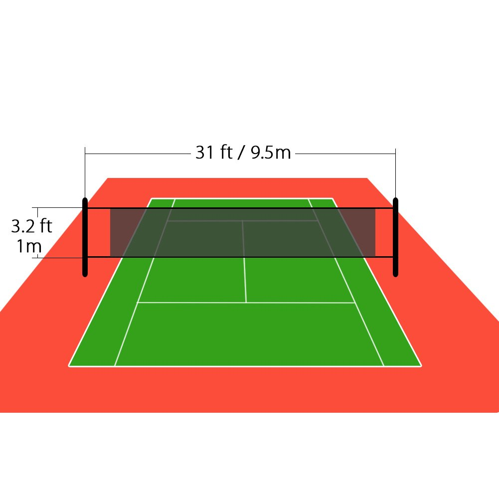 amazon com nktm outdoor sports classic volleyball net for garden