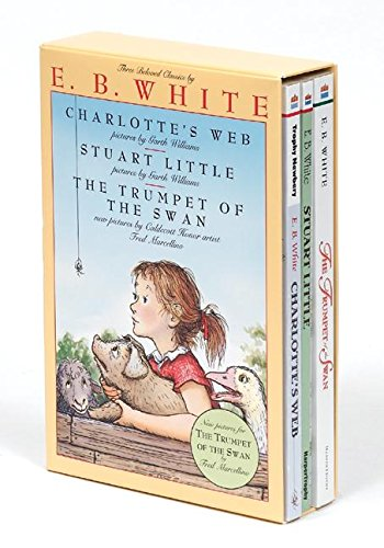 E. B. White Box Set: Charlotte's Web, Stuart Little, The Trumpet of the Swan ()