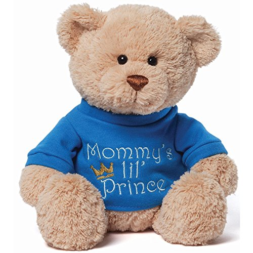Gund Mommy's Little Prince T-shirt Teddy Bear Stuffed ()