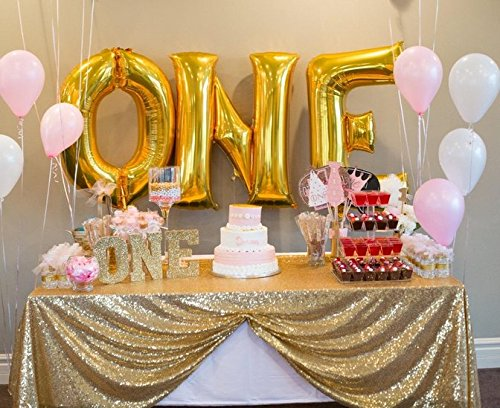 50''50'' Square Light Gold Sequin Tablecloth Select Your Color & Size Can Be Available ! Sequin Overlays, Runners, Gatsby Wedding, Glam Wedding Decor, Vintage Weddings (Light - Gold Tablecloth
