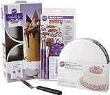 wilton small angled spatula - Wilton I Taught Myself Painting on Cakes Set, 22-Piece, Cake Decorating Supplies