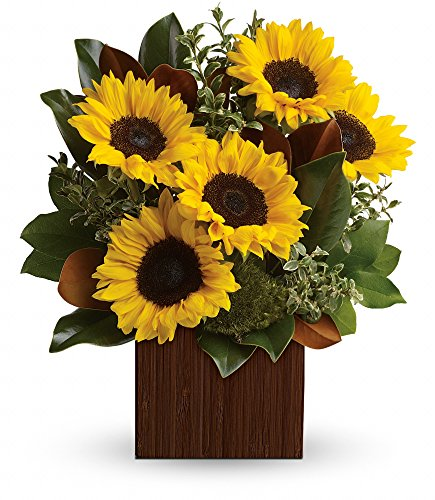 Chicago Flower Co. - You're Golden Bouquet - Fresh and Hand Delivered by Chicago Flower Company