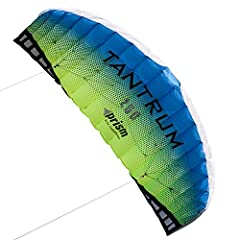 Ready to fly with a dual-line control bar, Tantrum parafoils are speedy, ruggedly built, and a blast to fly - you'll be digging your heels in as the breeze picks up! Perfect trainers for traction kiting, kiteboarding, or all-around fun, they'...