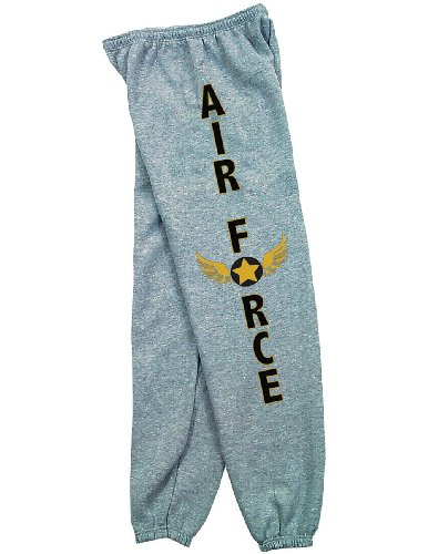 US Air Force Military Branch Sweatpants - Armed Forces Seal Logo