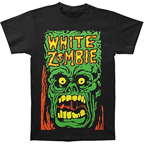 White Zombie Men's Monster Yell T-shirt Medium Black