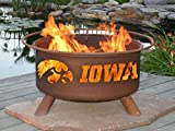 Patina F241 University of Iowa Fire Pit